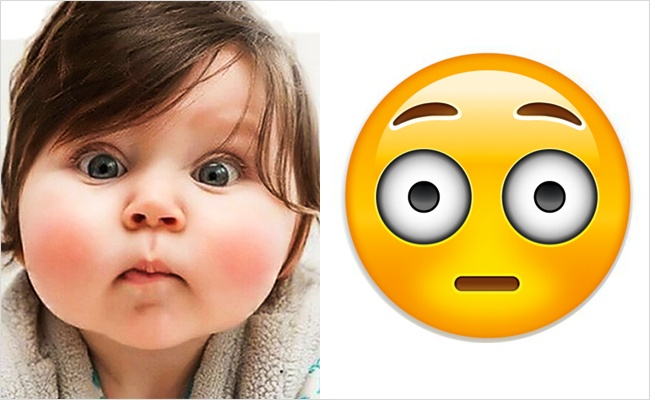Babies look like emojis1