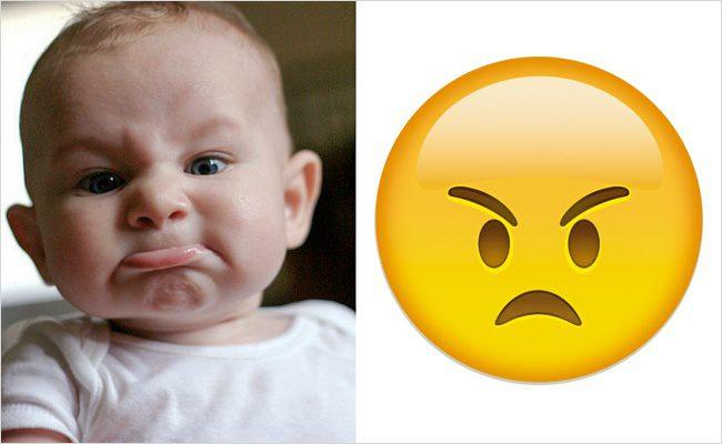 Babies look like emojis2