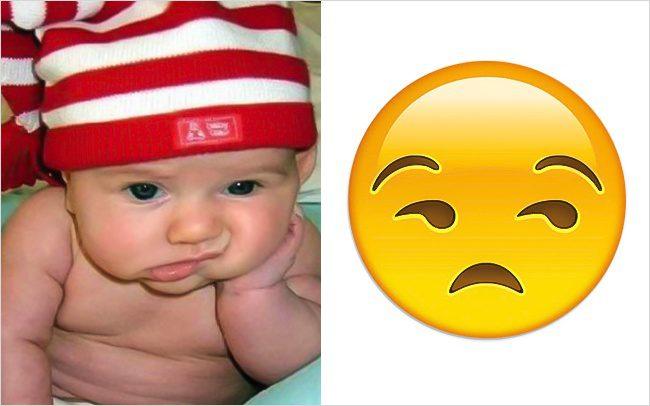 Babies look like emojis8