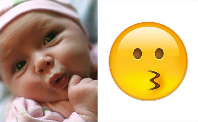 Babies look like emojis9