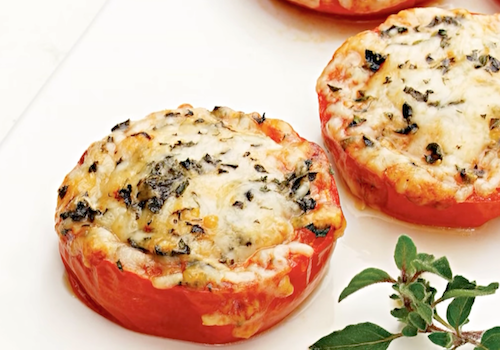 Baked Parmesan Tomatoes2
