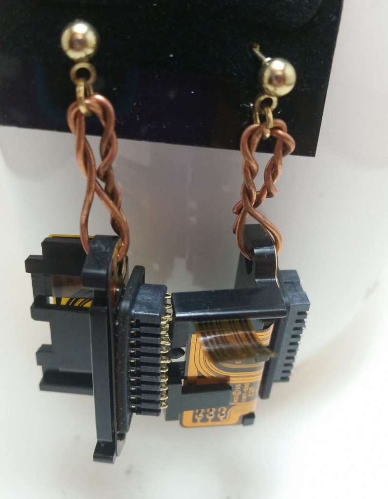 Computer Hard Drives Into Jewelry And Art 6