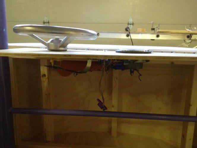 DIY bus bunk bed13