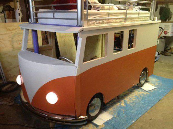 DIY bus bunk bed14