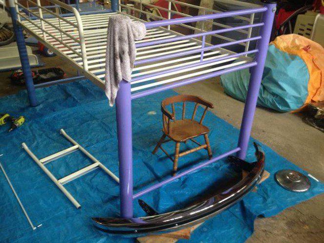 DIY bus bunk bed2