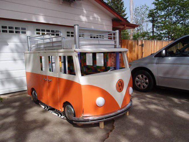 DIY bus bunk bed20