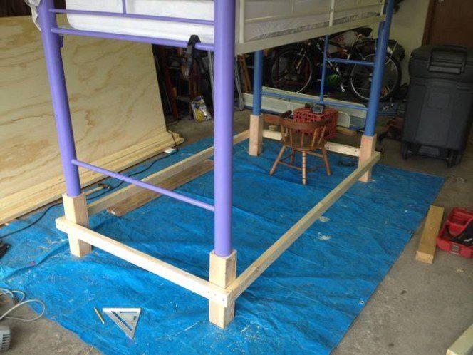 DIY bus bunk bed4