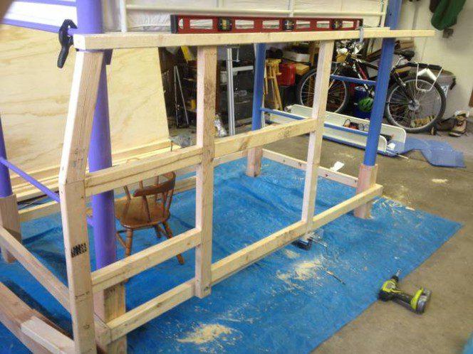 DIY bus bunk bed5