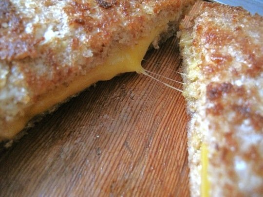 Grilled cheese sandwich5
