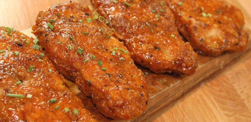 Honey Garlic Pork Chops1