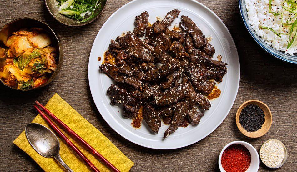 Korean BBQ Beef1