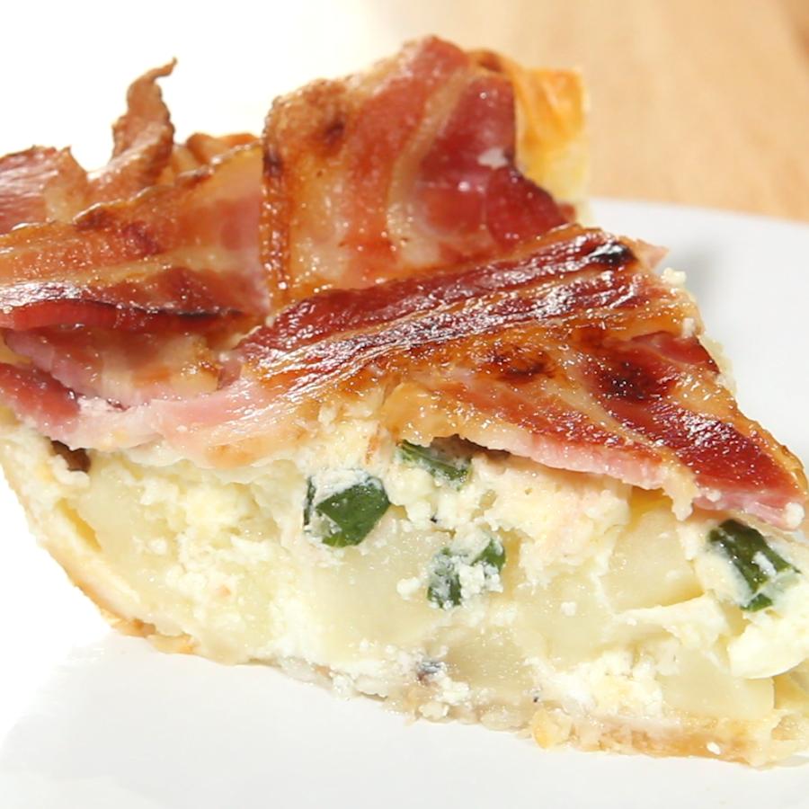 Maple Bacon Breakfast Pie1