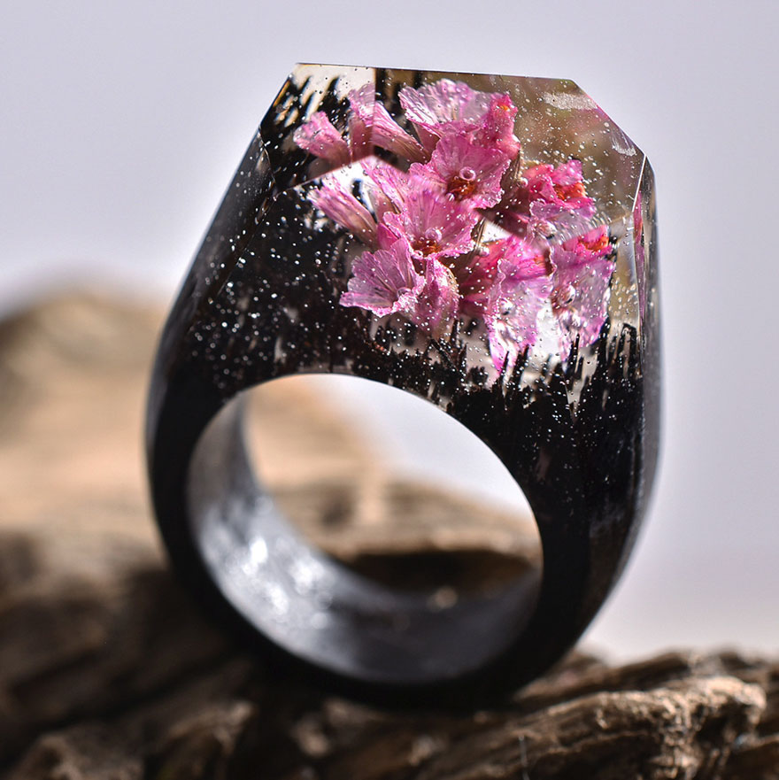 Miniature wooden rings3