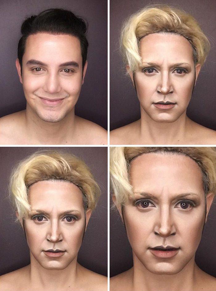 Paolo Ballesteros make up 3