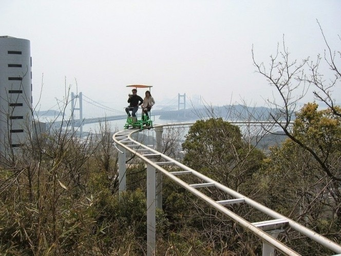 Pedal-powered coaster1