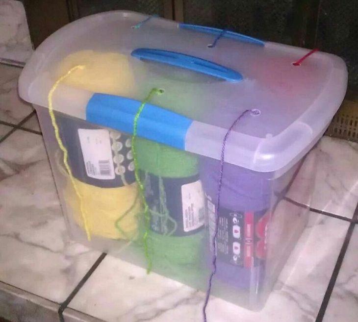 Storage bin makeover9