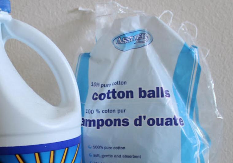 Use of cotton balls1