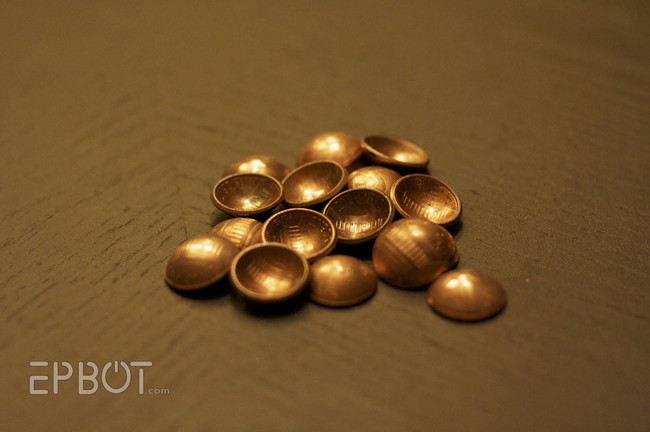 Ways to repurpose pennies5