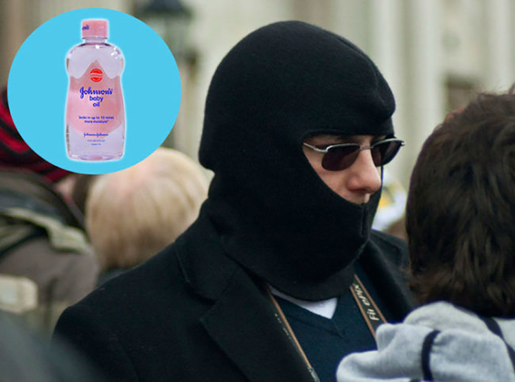 alternate use of baby oil 1