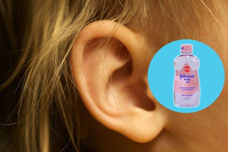 alternate use of baby oil 14