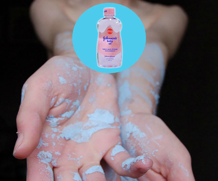 alternate use of baby oil 3