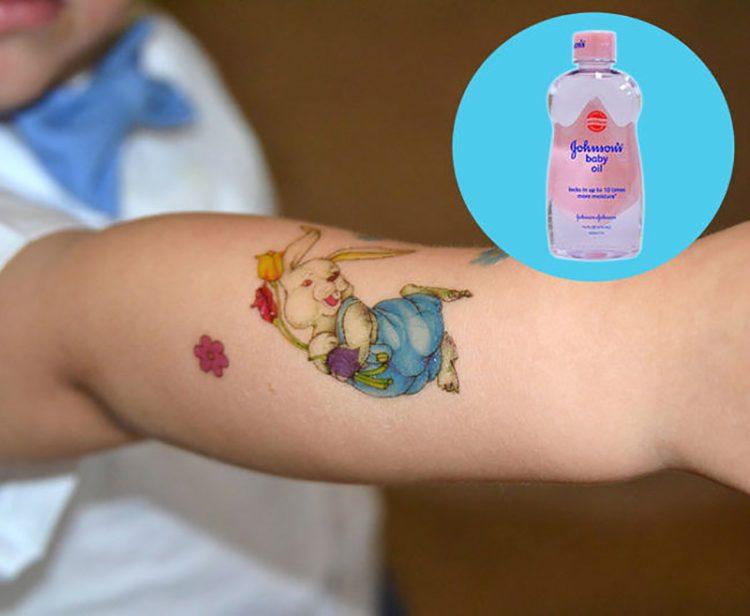 alternate use of baby oil 4