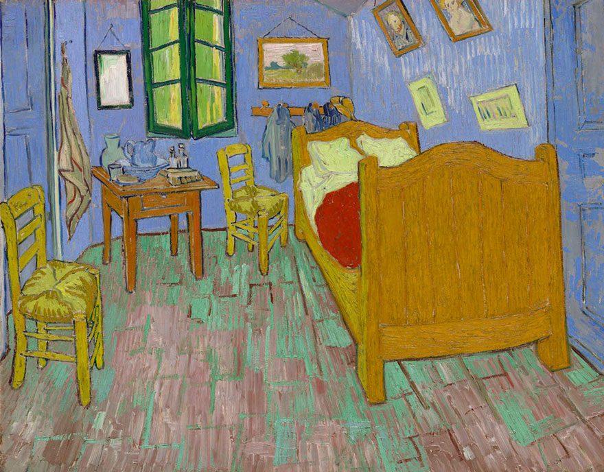 artists recreate Van Gogh's iconic bedroom 2