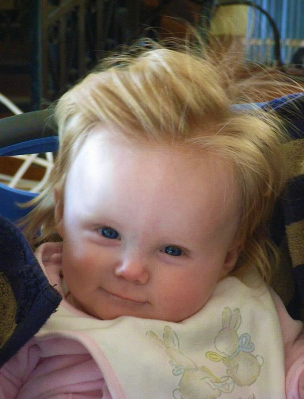 babies born with full hair13
