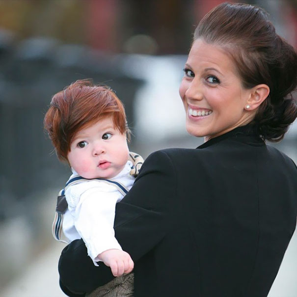 babies born with full hair3