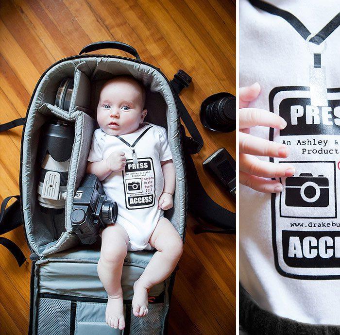 babies sleeping in camera bags 12