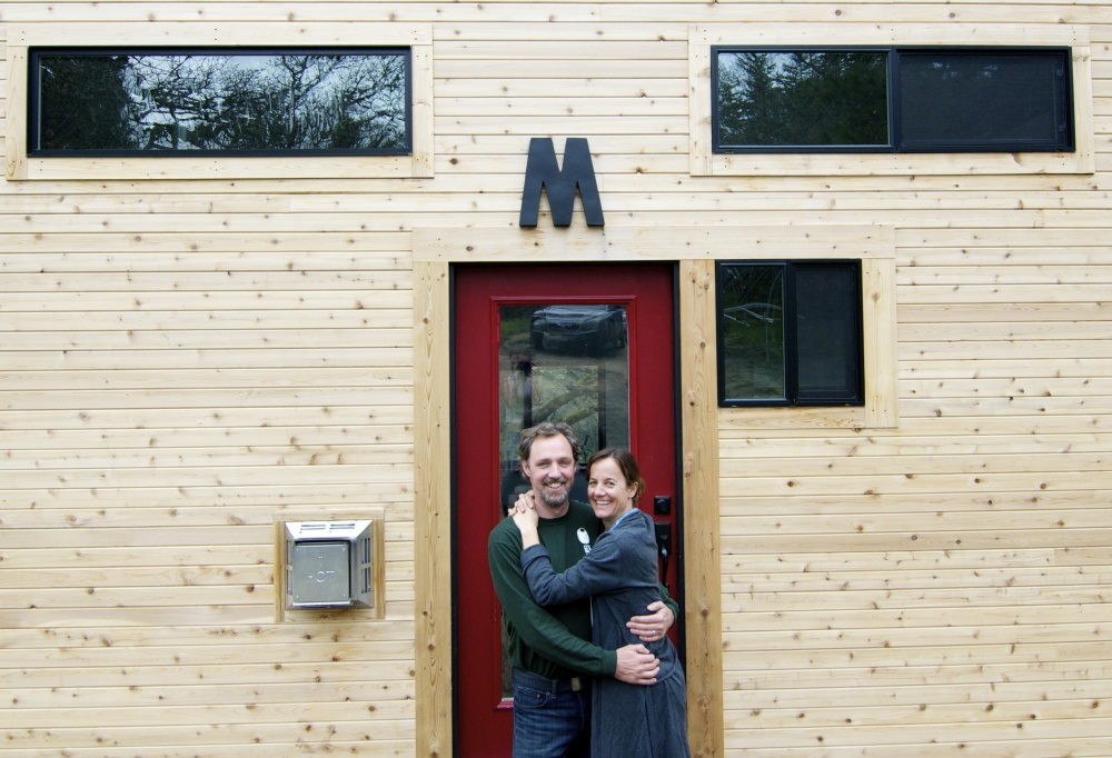 couple built dream house