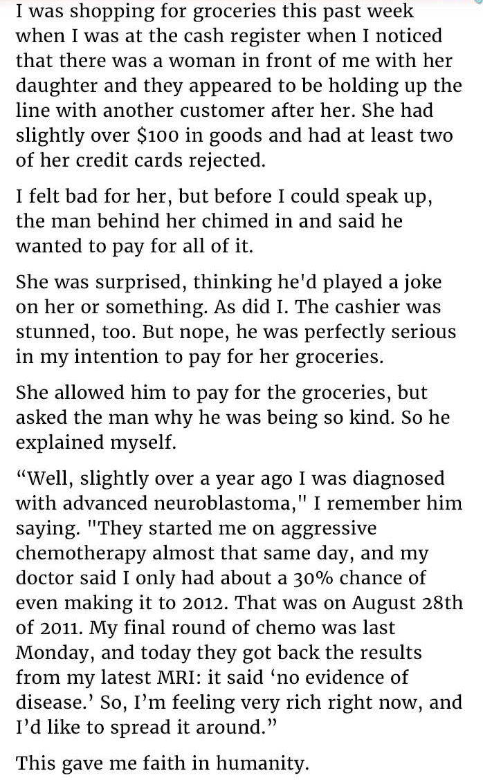 credit card rejected