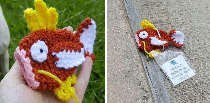 crocheted pokemon toys 1