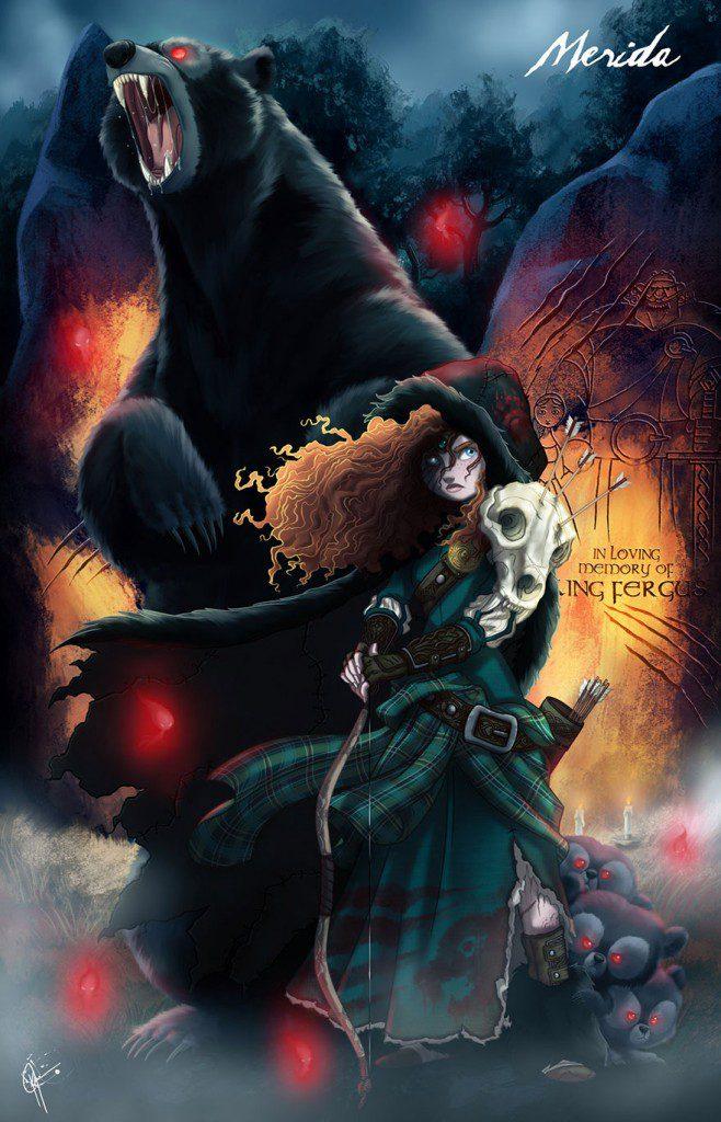 dark disney princesses 12