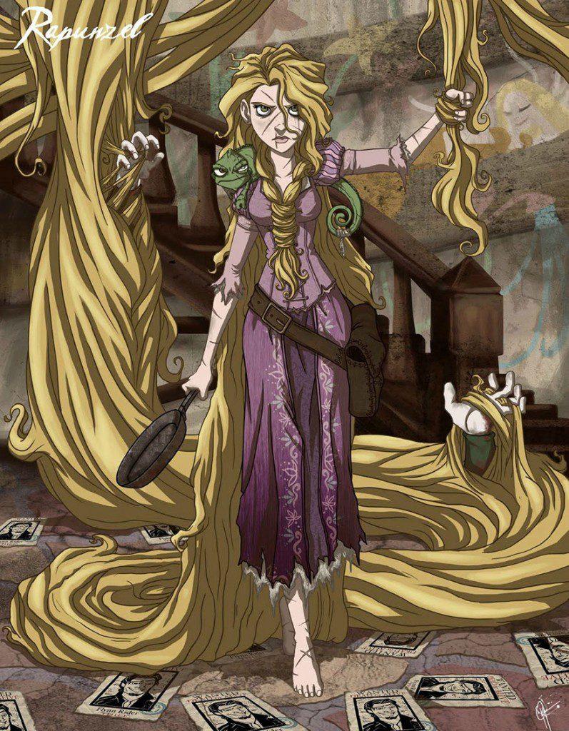 dark disney princesses 16