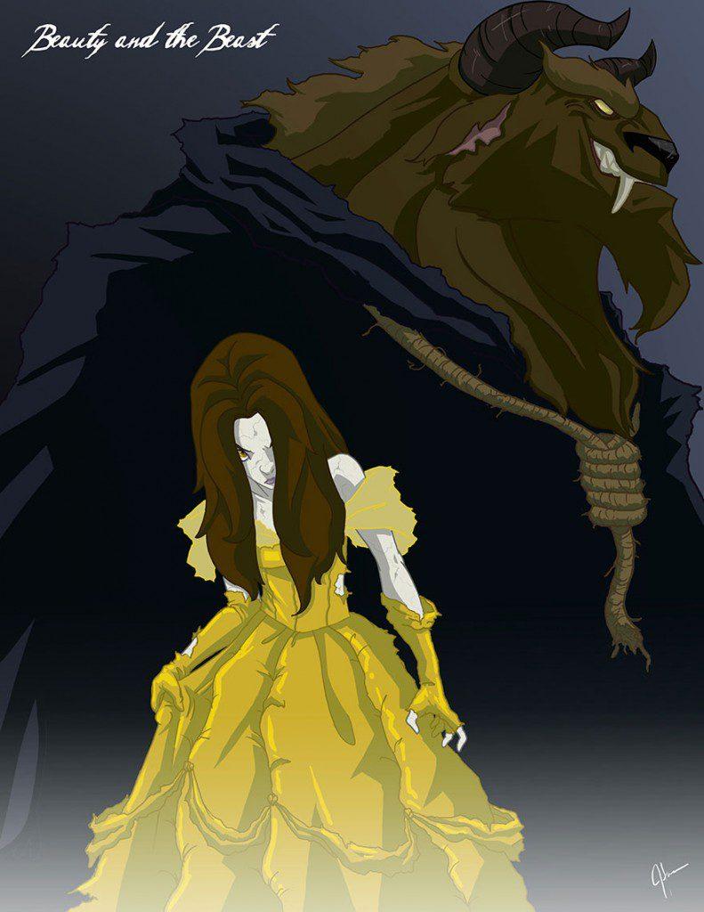 dark disney princesses 4
