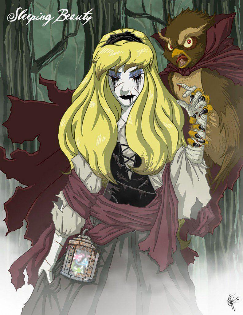 dark disney princesses 7