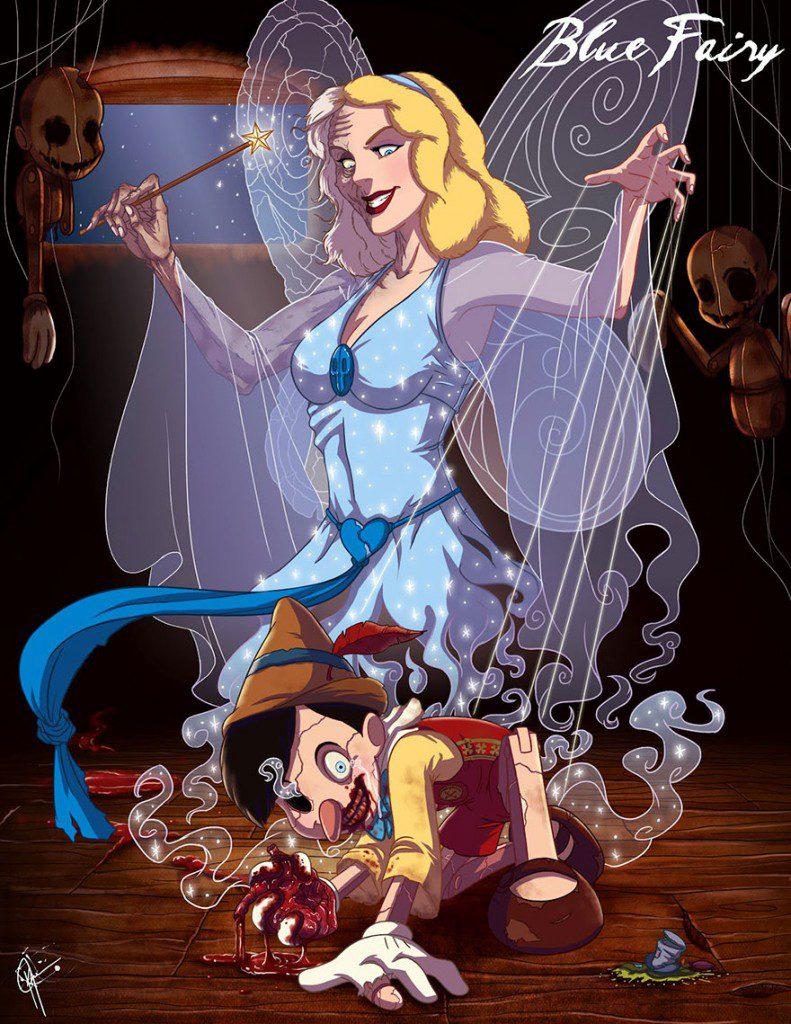 dark disney princesses 8