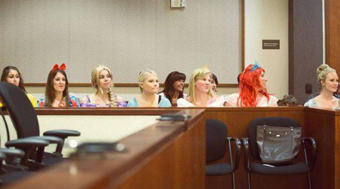 disney princesses courtroom