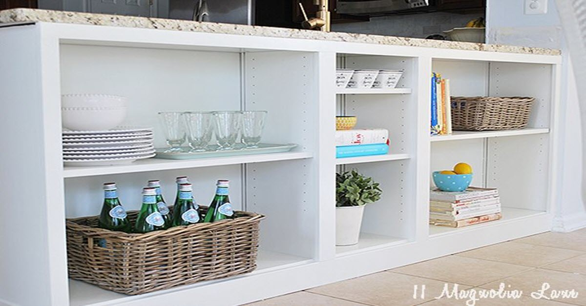 Use The Space Under Your Counters For This Genius Diy