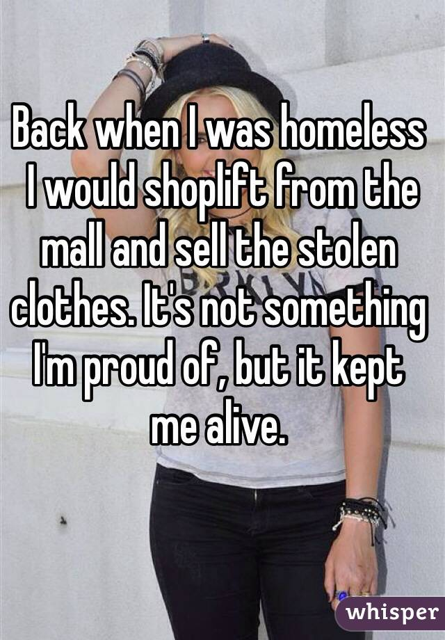 homeless people's confessions 11