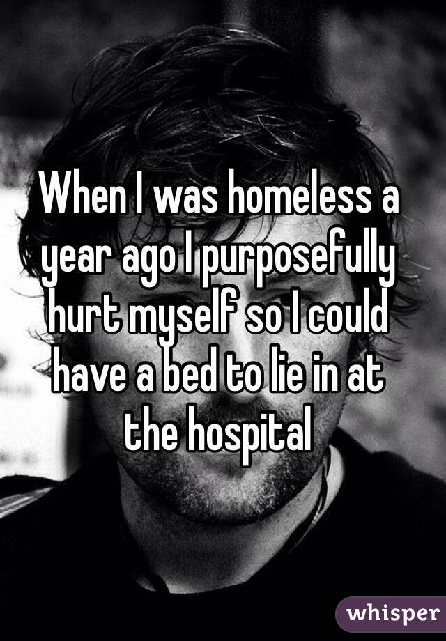 homeless people's confessions 2