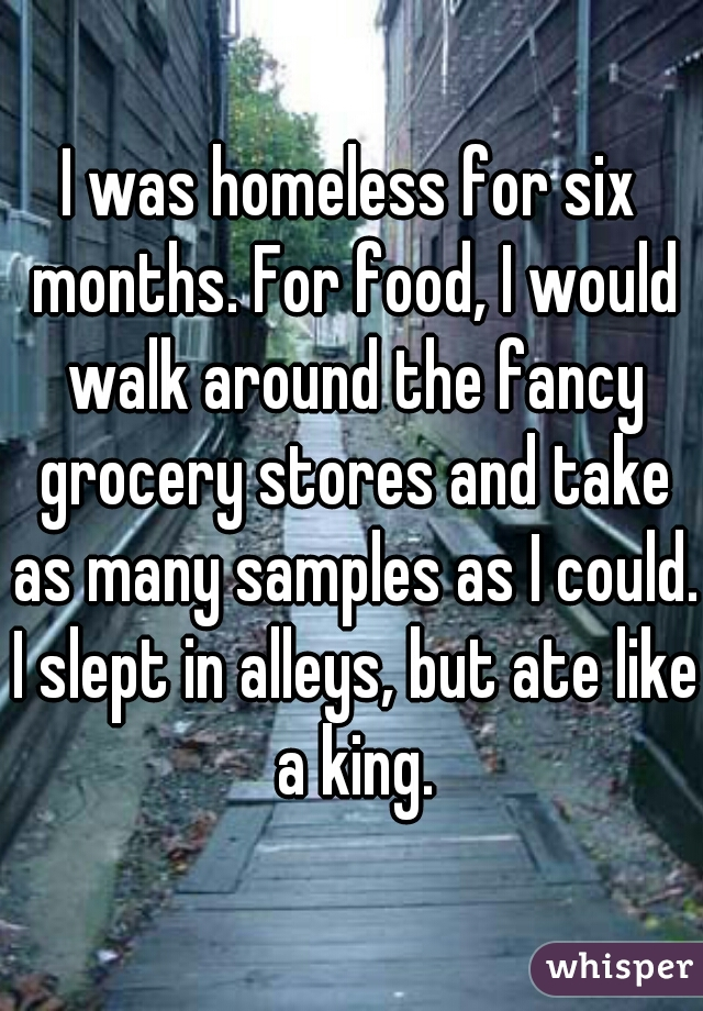 homeless people's confessions 3