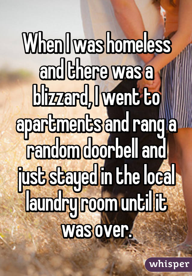 homeless people's confessions 4
