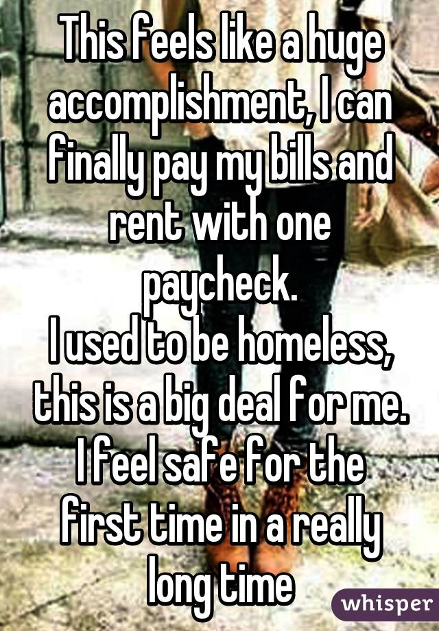 homeless people's confessions 6