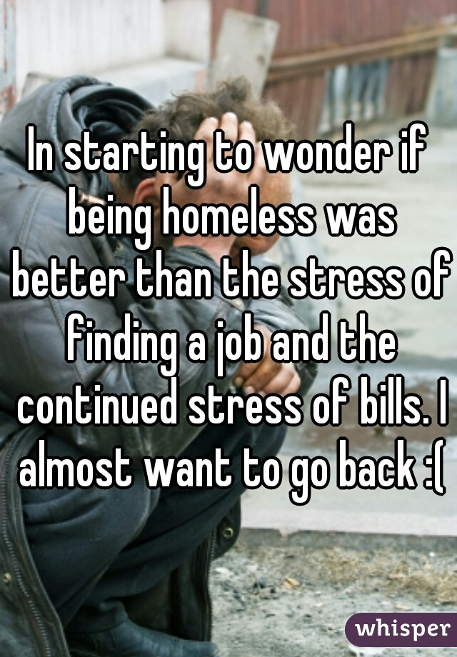 homeless people's confessions 8