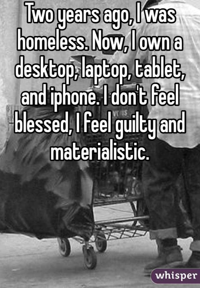 homeless people's confessions 9
