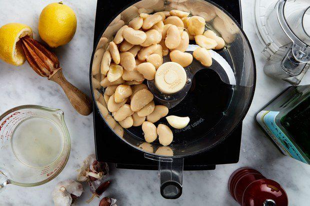 how to make hummus 1