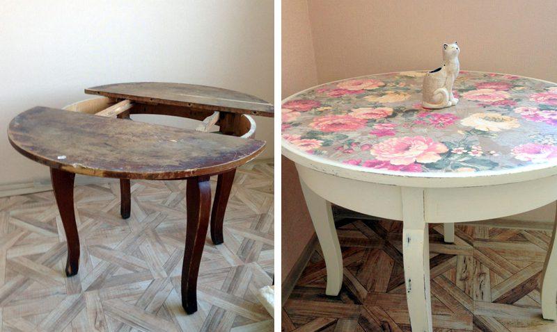 old furniture transformation 1