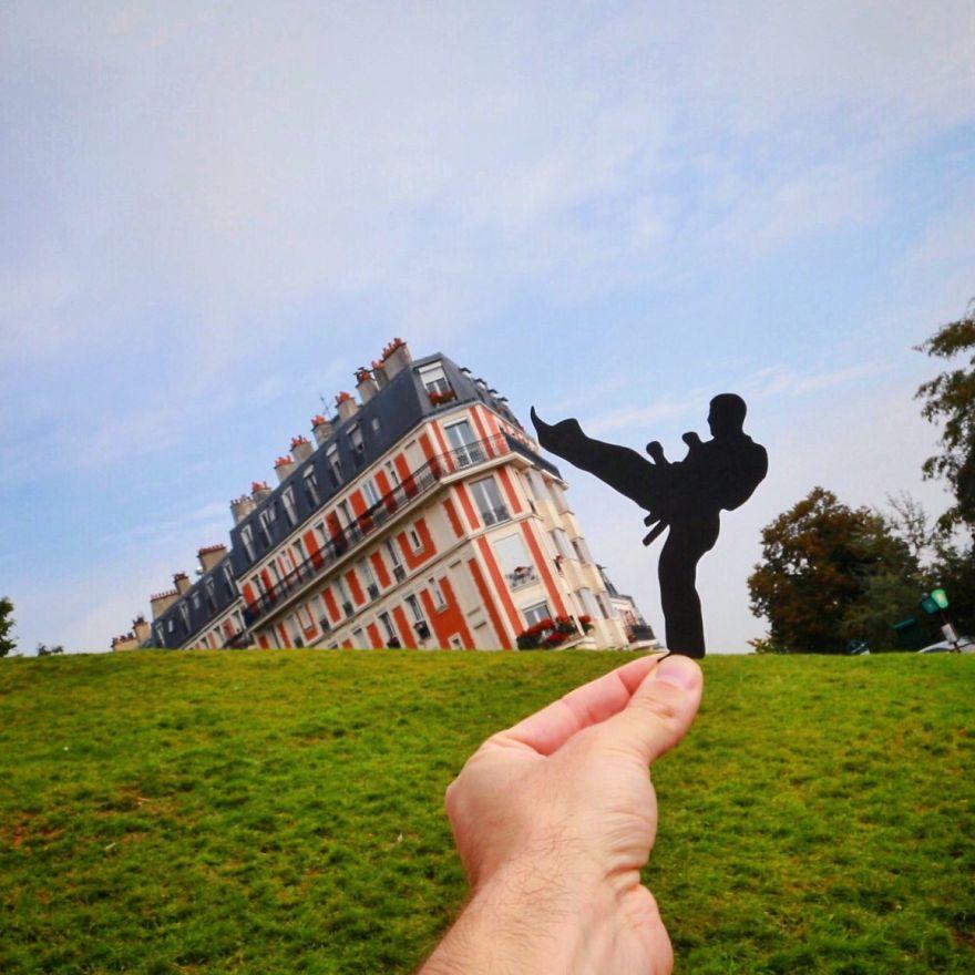 paper cutouts transform landmarks 10